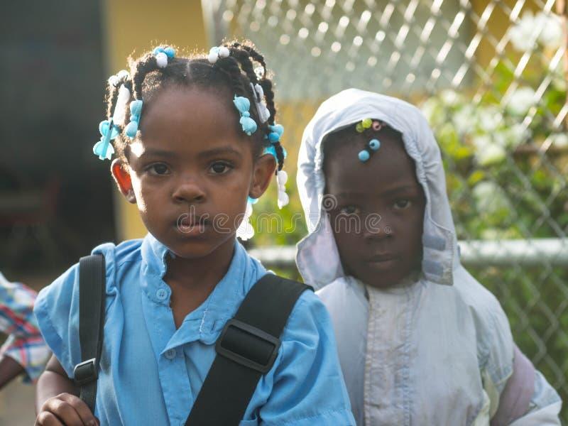 Irmãs na educação imagens de stock royalty free