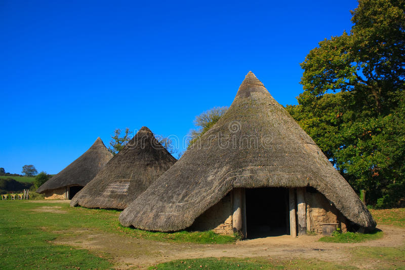 Download Iron Age Huts Royalty Free Stock Photos - Image: 16459318