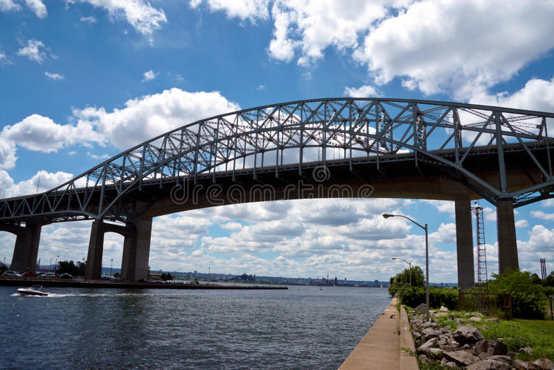 Download Iron bridge stock image. Image of metal, construction - 16346161