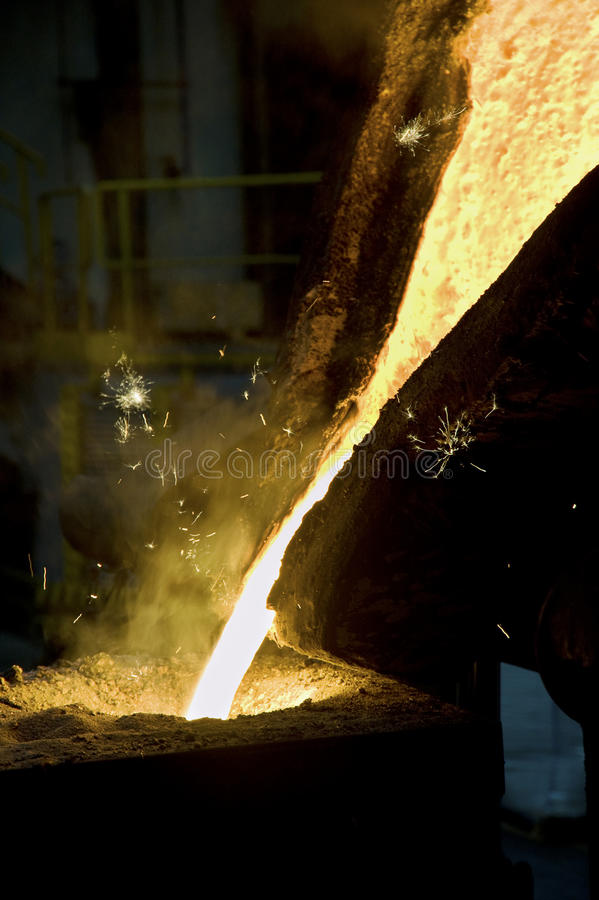 Download Iron casting stock image. Image of heat, ductile, foundry - 19918139