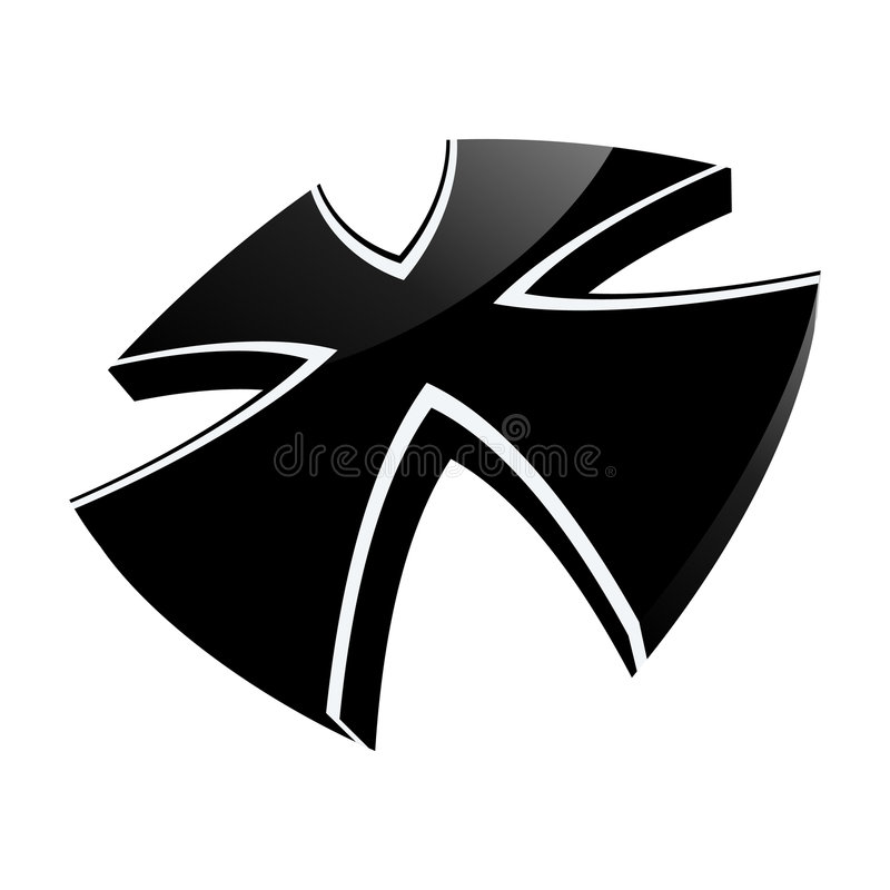 Iron Cross illustration royalty free illustration
