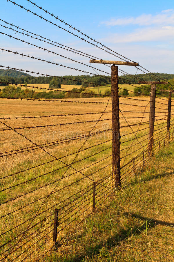 Download Iron Curtain Remains stock image. Image of attached, europe - 22012225