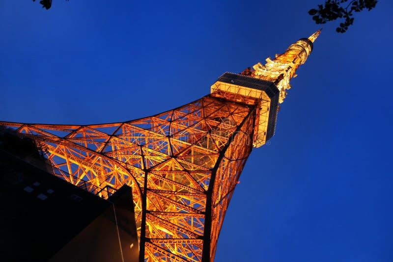 iron det tokyo tornet royaltyfria bilder