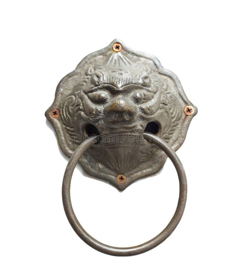 Iron door handle royalty free stock images