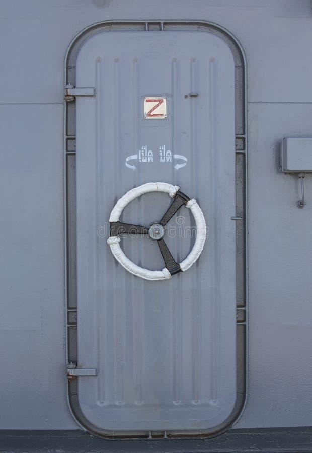 Download Iron door stock photo. Image of navigation, door, naval - 34227450