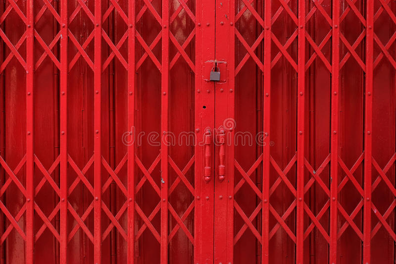 Iron door stock photos