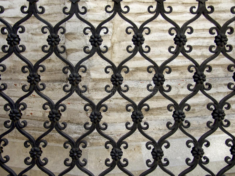 Iron fence stock images