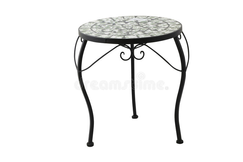 Iron furniture royalty free stock images