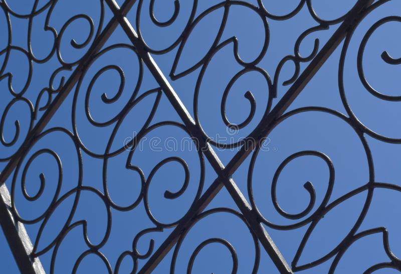 Download Iron Gate stock image. Image of abstract, detail, pattern - 10836571
