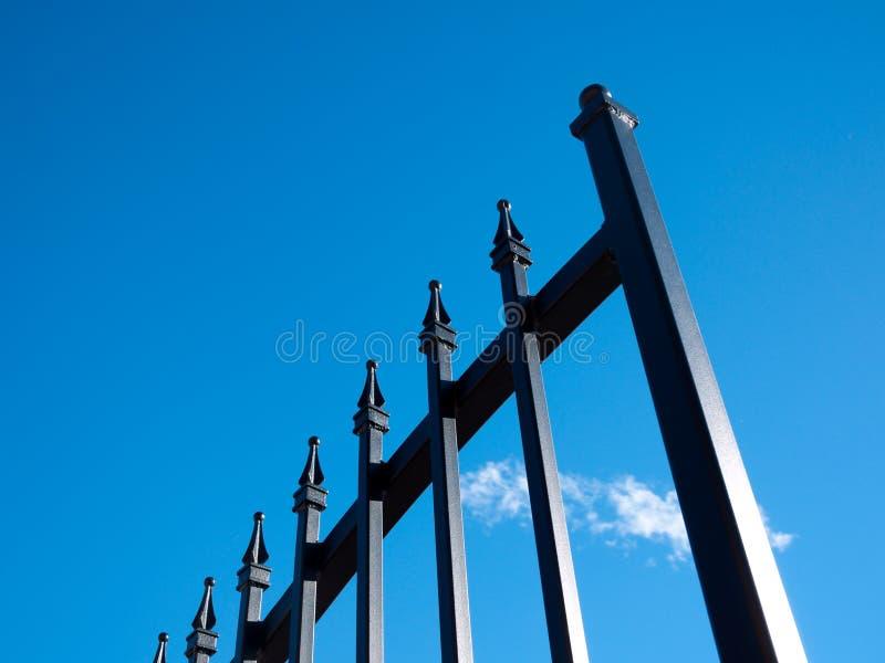 Iron gate royalty free stock image