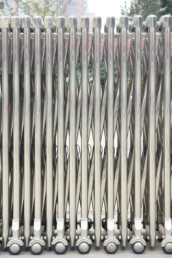 Download Iron gate stock image. Image of enclosure, steel, door - 21028241