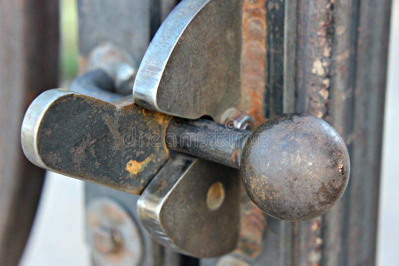 Download Iron Gate Latch Stock Photography - Image: 25086742