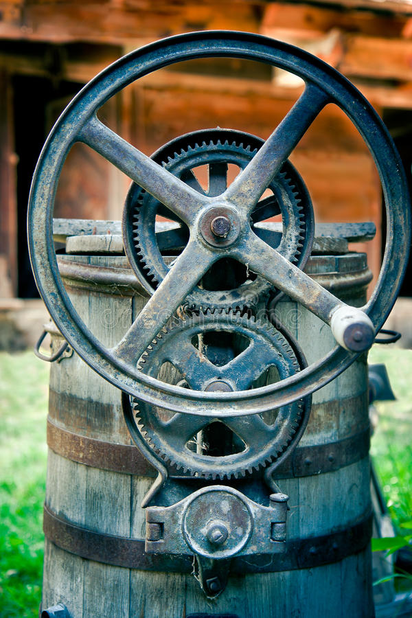 Download Iron gears stock image. Image of vintage, turn, circle - 26289909