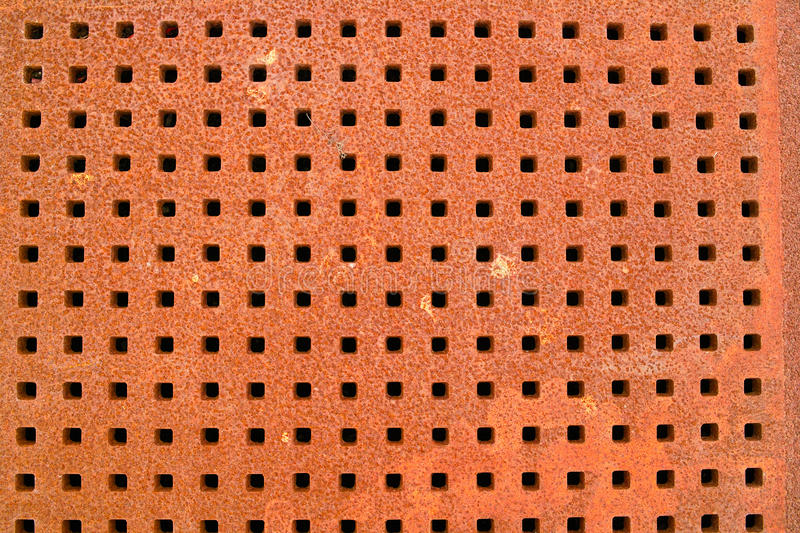 Iron grate texture stock photos