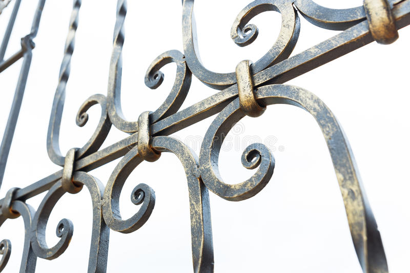 Iron Grill stock image
