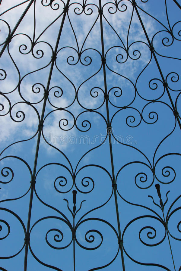 Iron Heart Motif Background stock images