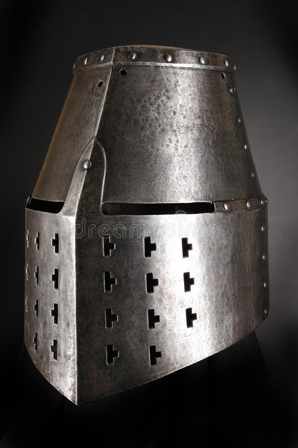 Iron helmet