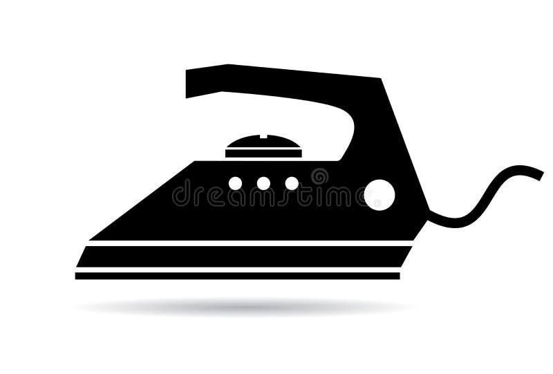 Iron icon stock illustration