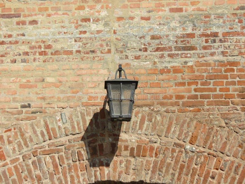 Iron lantern royalty free stock photography