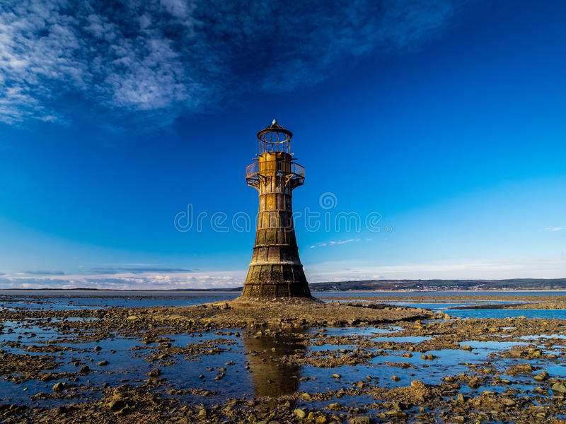 The Iron Lighthouse. royalty free stock photography