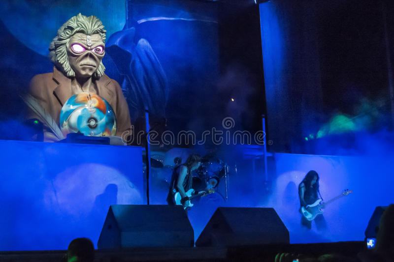 Iron Maiden photographie stock libre de droits