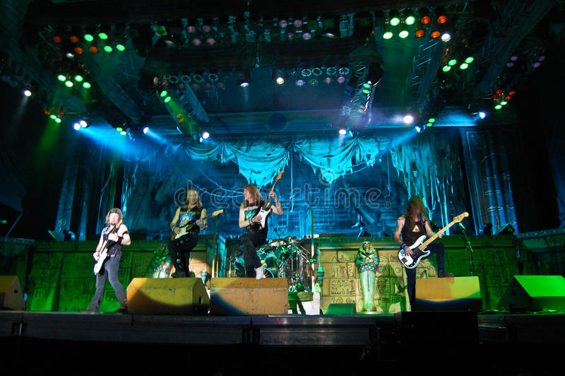 Download Iron Maiden In Concert editorial photography. Image of harris - 9927832