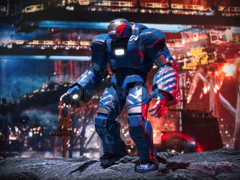 Iron Man 3 Igor. Igor Action Figure in Iron man 3 stock images