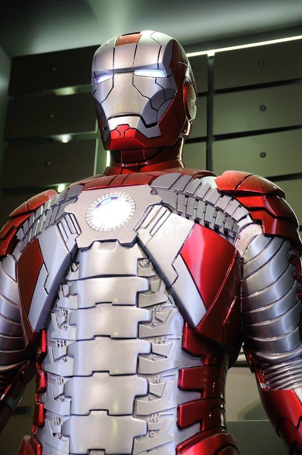 Iron Man Mark V stock photos