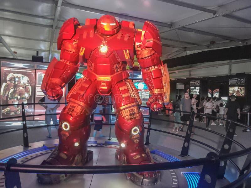 Iron Man model stock photography