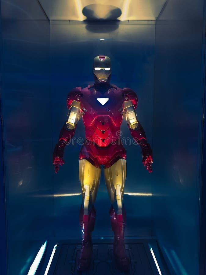 Iron Man model royalty free stock photos
