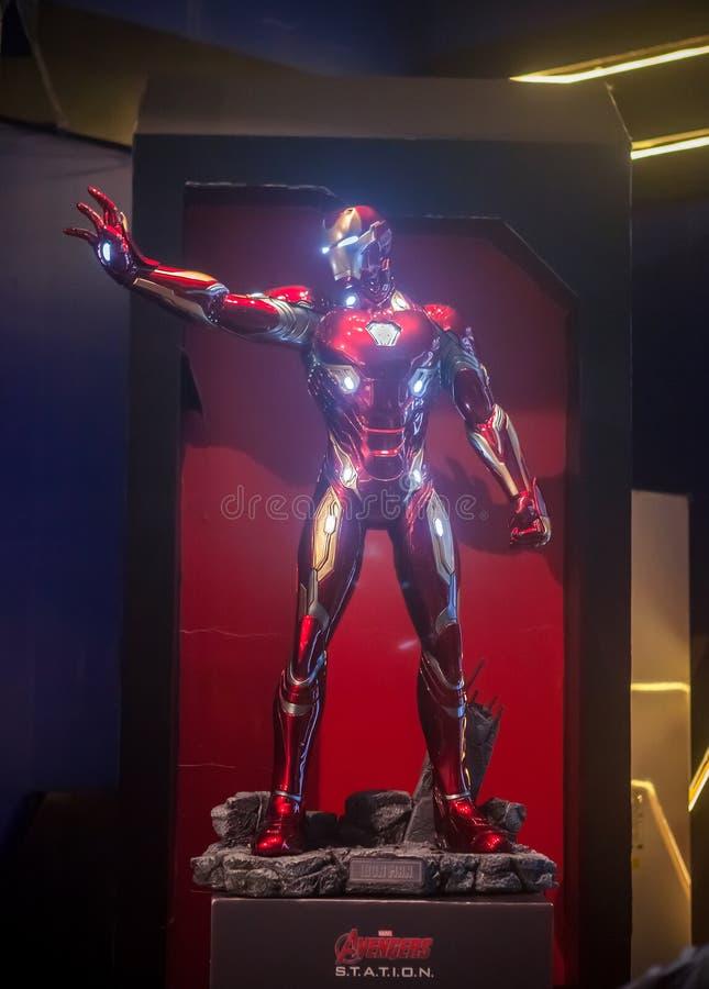 Iron Man model stock photo