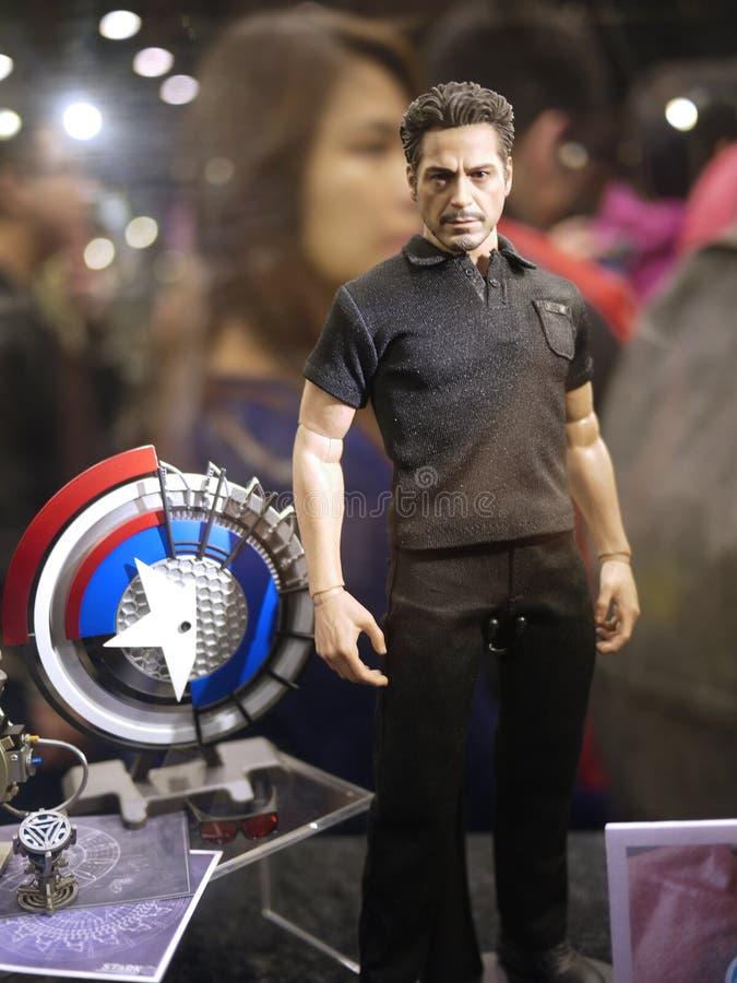 Iron Man Tony Stark In Iron Man 2 Editorial Stock Photo ...