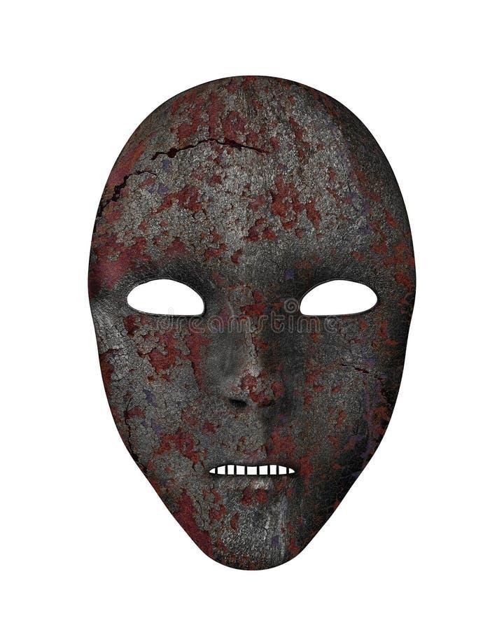 Iron mask vector illustration