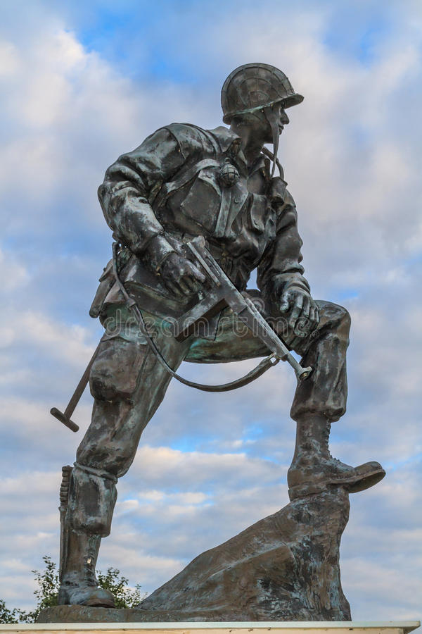 Free Iron Mike Statue In Normandy, France Stock Photo - 30723040