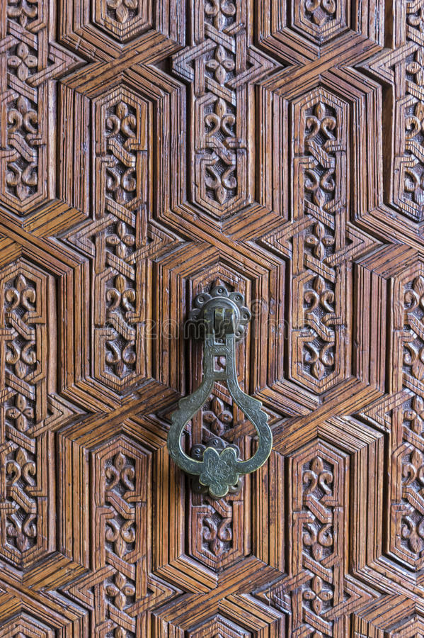 Iron Moroccan Door Knob stock image. Image of ornament - 51552243