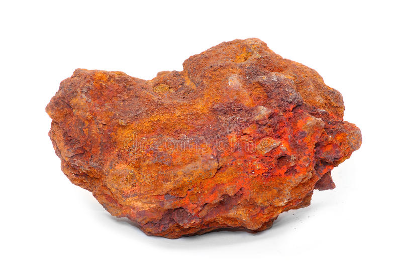 Iron ore royalty free stock photos