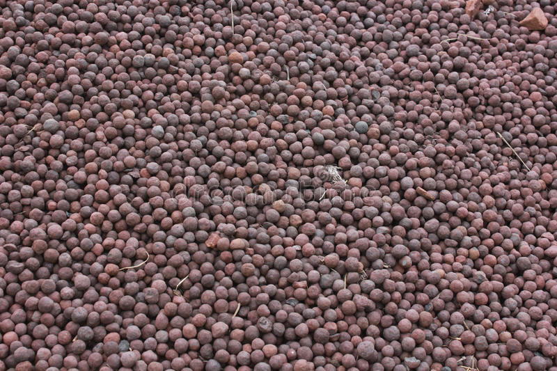 Iron Ore Pellets stock photos