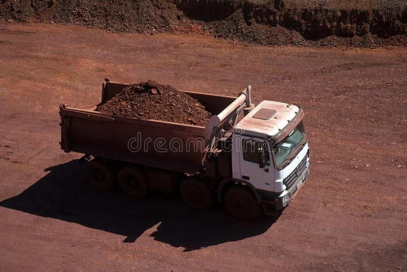 Iron Ore stock photography
