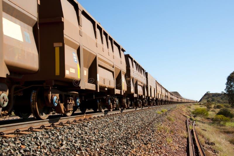 Iron Ore Train stock photography