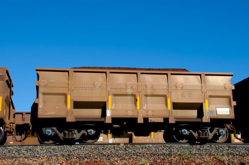 Iron Ore Train royalty free stock photo