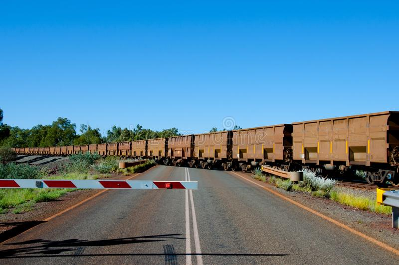 Iron Ore Train stock photo