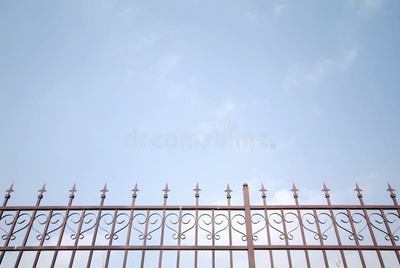 iron płotu marzenie zdjęcie stock