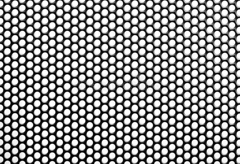 Iron Perforated Sheet Stock Image Image Of Perforated