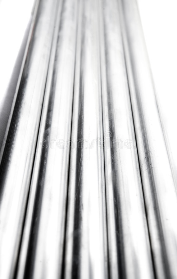 Iron Pipes Royalty Free Stock Image