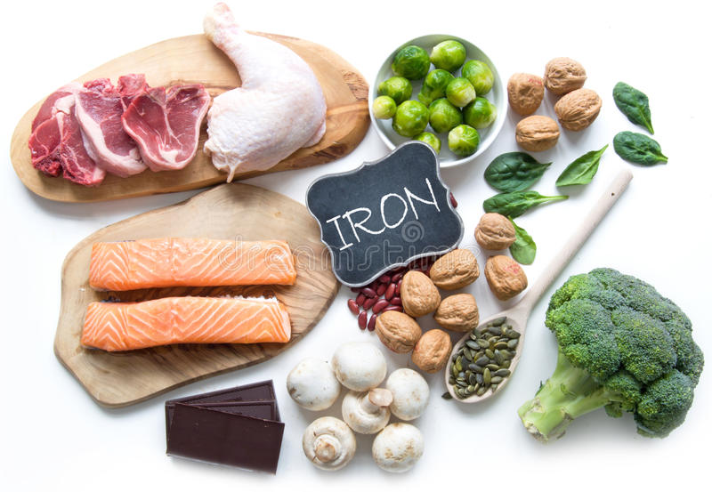 Iron rich foods stock photo image 75248535 for Iron fish for cooking