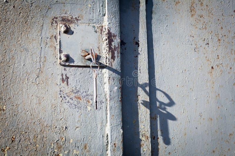 Rusty Door Key Stock Image Image Of Grungy Metal Rusty
