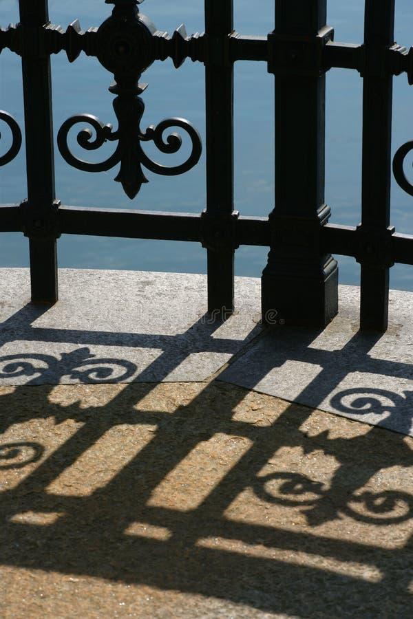 Iron shadow stock photos