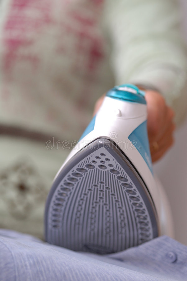 Download Iron and shirt stock image. Image of housework, table - 2962425