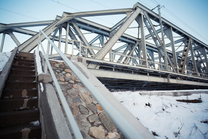 Download Iron train bridge stock image. Image of train, structure - 22881261