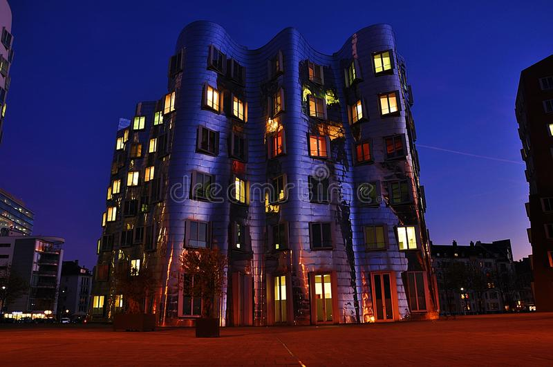 Download Iron Wall Building In Dusseldorf Stock Photo - Image: 33553748